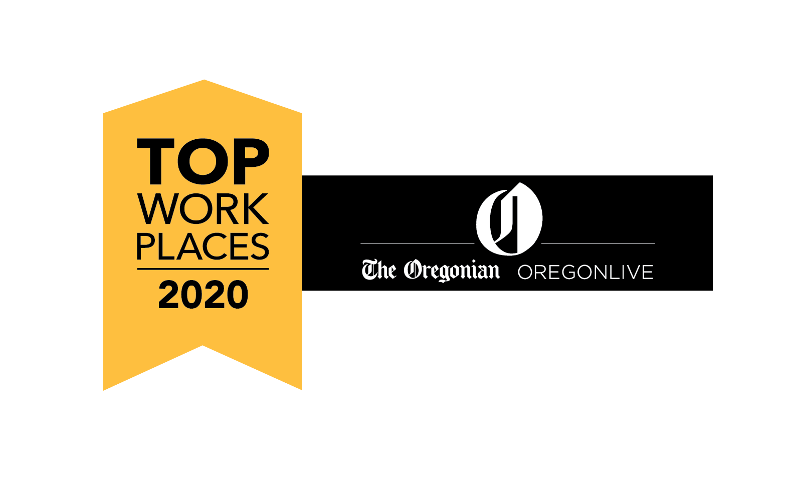 Image Logo for The Oregonian Top Workplaces Award